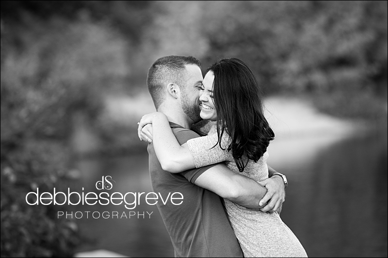Amanda and Dan's Old Stone Church Engagement Session